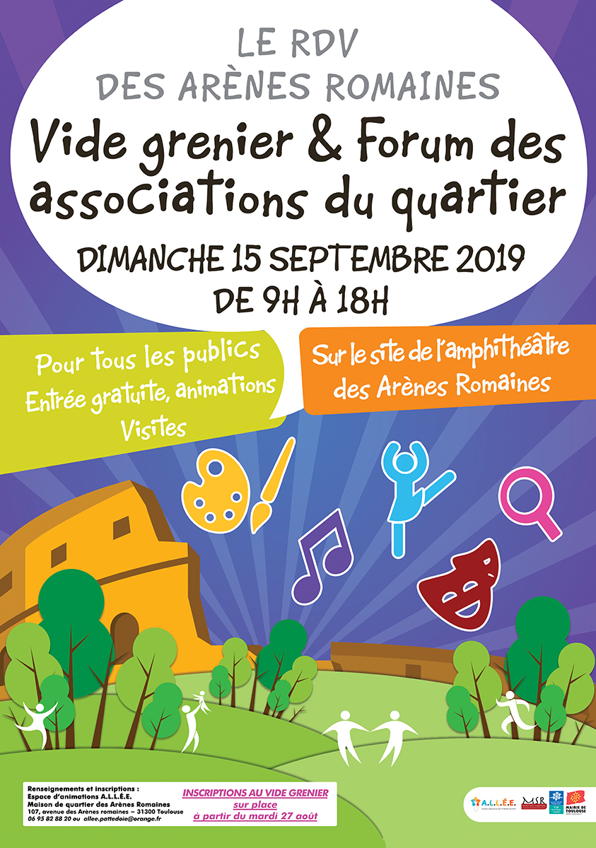 Vide Grenier Forum Des Assos Telecharger Le Bulletin D Inscription Association Allee Association Laique Pour Les Loisirs Et L Education Des Enfants