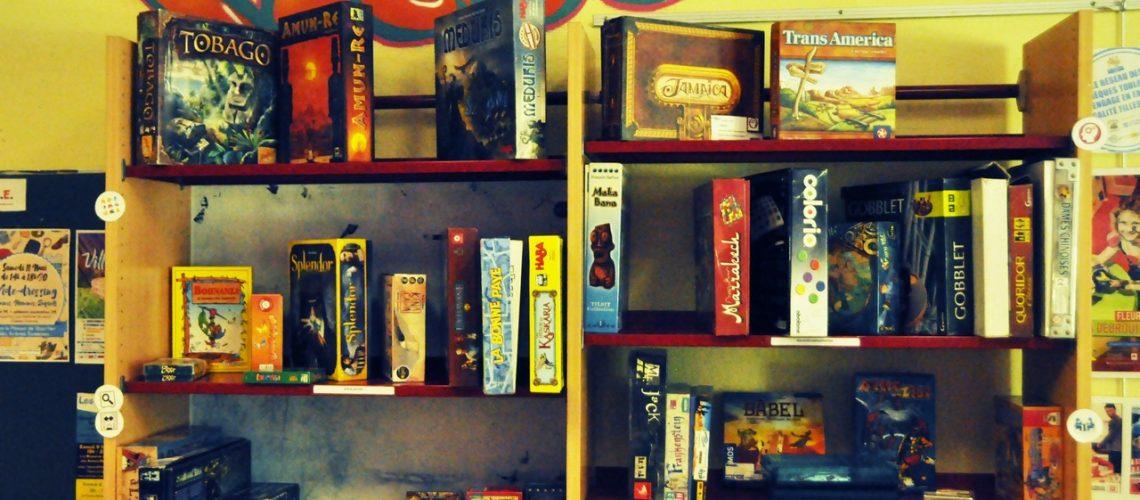 Le catalogue de jeu de la Ludothèque