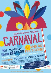 Carnaval Fontaine Polygone Cartoucherie 2020